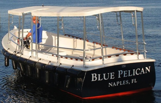 Blue Pelican Water Taxi in Naples