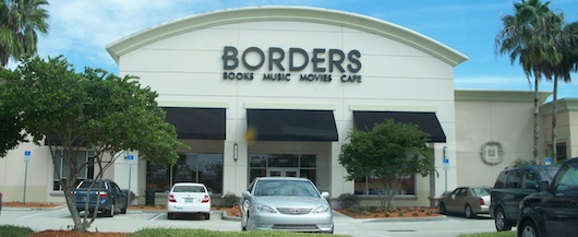 Borders book store in Naples Florida