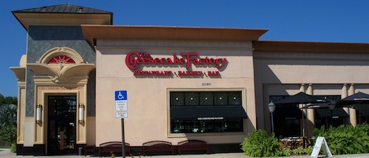The Cheesecake Factory in Naples Florida