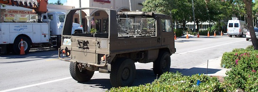 Cool Army Vehicle in Naples Florida