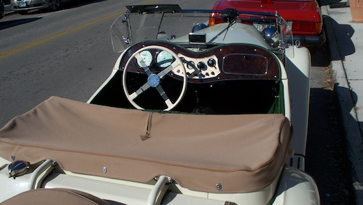 Classic Car in Naples Florida - MG