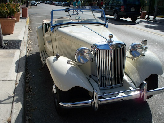Classic Car in Naples Florida MG