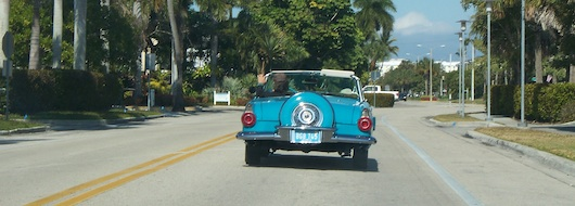 Classic Car Spotted in Olde Naples Florida