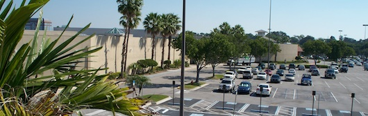 Parking Lot at Coastland Mall