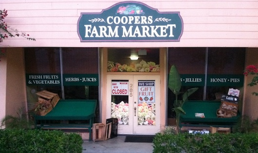 Cooper's Farm Market in Naples Florida