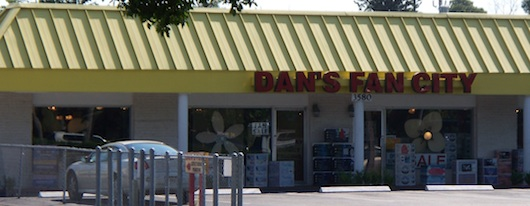 Dan's Fan City in Naples Florida
