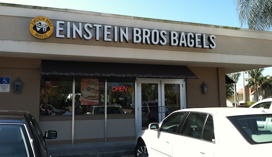 Einstein Brothers Bagels in Naples Florida