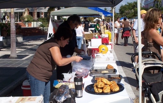 Farmers Market on Third Street in Naples