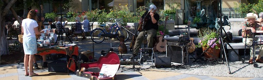 Live Music at the Farmer's Market on Third Street in Naples