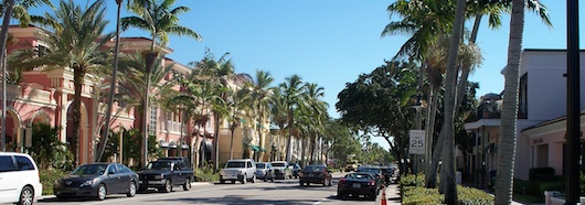 Fifth Avenue Shops in Naples Florida
