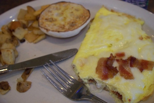 Bacon Omelette from First Watch in Naples