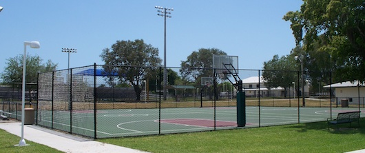 Fleischmann Park in Naples Florida | Basketball Court