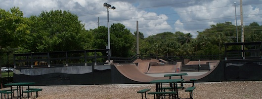 The Edge Johnny Nocera Skatepark in Naples Florida