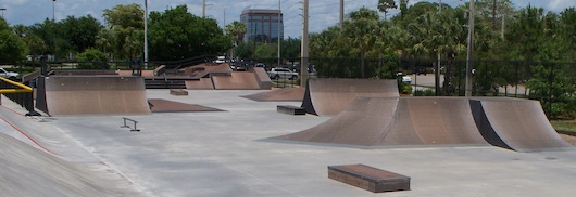 The Edge Johnny Nocera Skatepark in Naples