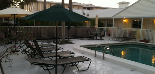 Lemon Tree Inn's Pool Area