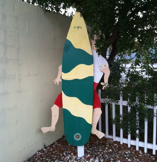 Lemon Tree Inn's Surf Board Boy
