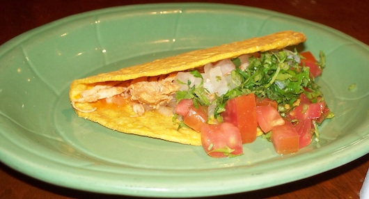 Chicken Taco at Mr Tequila Mexican Restaurant in Naples Florida