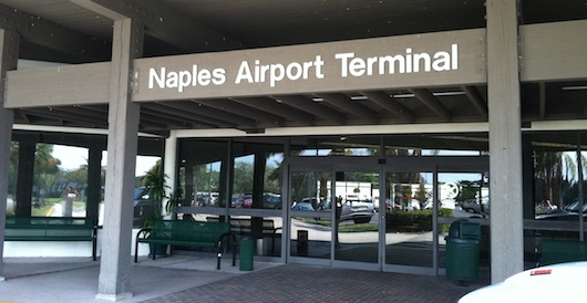 Terminal at Naples Florida Airport