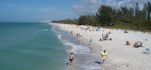 Naples Florida Beaches During Winter Season
