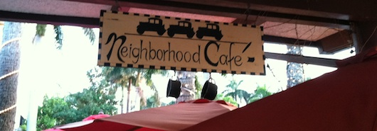 Neighborhood Cafe in Naples Florida
