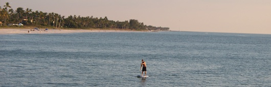 Paddle Boarding in Naples Florida Waters
