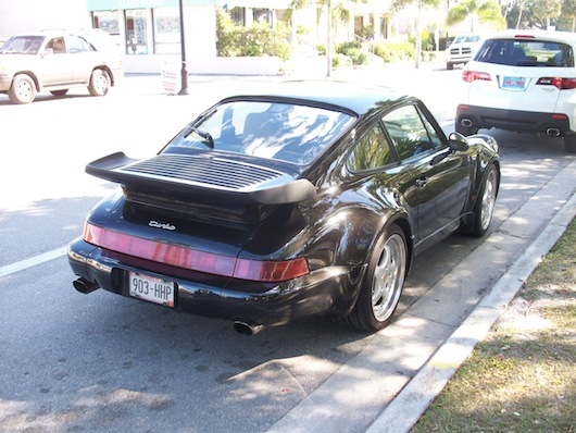 Porsche Turbo spotted in Naples Florida
