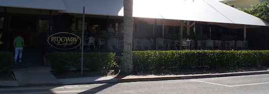 Ridgway Bar & Grill next to Tony's Off Third - Live Music in Naples Florida