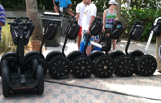 City of Naples Sea Turtle Homecoming Festival - Parked Segways