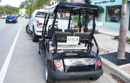 Street Legal Golf Cart in Naples