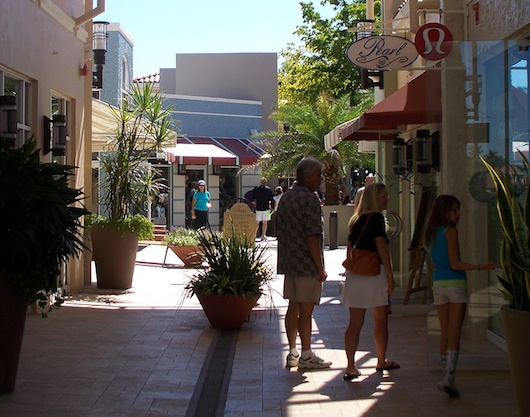 The Village Waterfront Shopping in Naples Florida