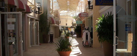 Shopping at the Village in Naples