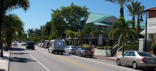 Third Street South in Olde Naples
