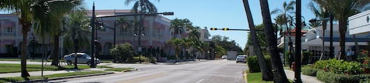 Third Street South in Naples Florida