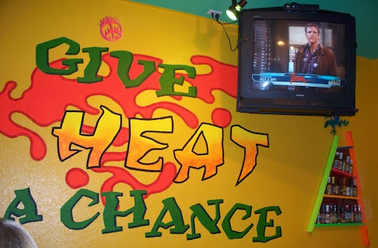 Tijuana Flats in Naples Florida - Give Heat a Chance