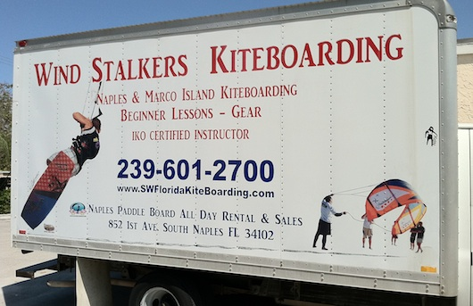 Wind Stalkers Kiteboarding and Paddleboarding in Naples Florida