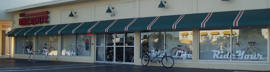 The Bike Route in Naples Florida