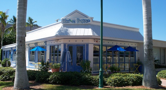 Bleu Provence French Restaurant in Naples Florida at Crayton Cove