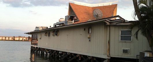 The Boathouse waterfront restaurant in Naples Florida