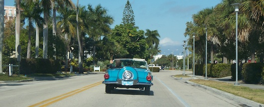 Cool car we saw on the way to First Watch for breakfast in Naples Florida