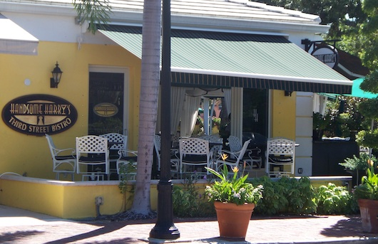 Front of Handsome Harrys Third Street Bistro in Naples