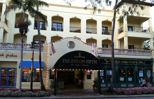 Inn on Fifth in downtown old Naples