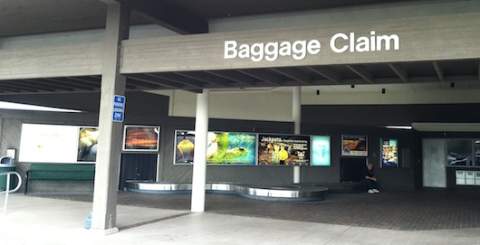 Baggage Claim at Naples Florida Airport