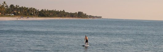 Paddleboarding in Naples Florida
