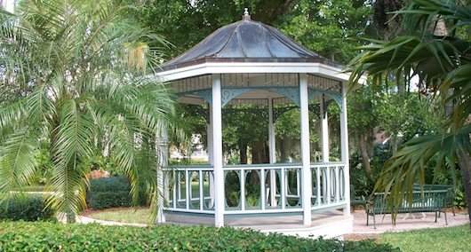 Gazebo at Rodgers Park in Naples Florida