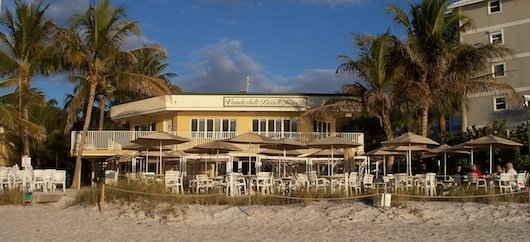 Turtle Club Beach front restaurant in Naples