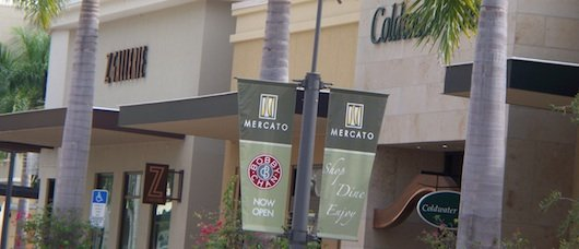 Z Gallery and Coldwater at Mercato Shops Naples
