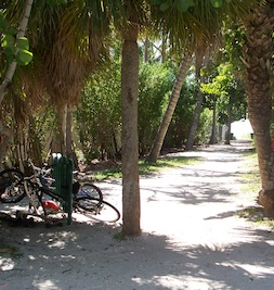 North Naples Public Beach Entrance