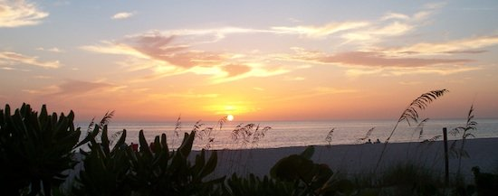 Naples Florida Sunset on the Beach
